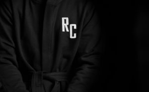 Reigning Champ Custom Monogram Embroidered Hooded Robe
