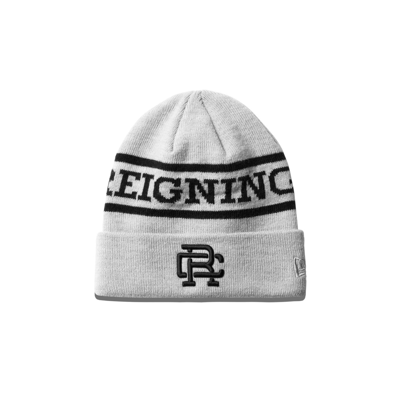 REIGNING CHAMP NEW ERA EMBROIDERED BEANIE