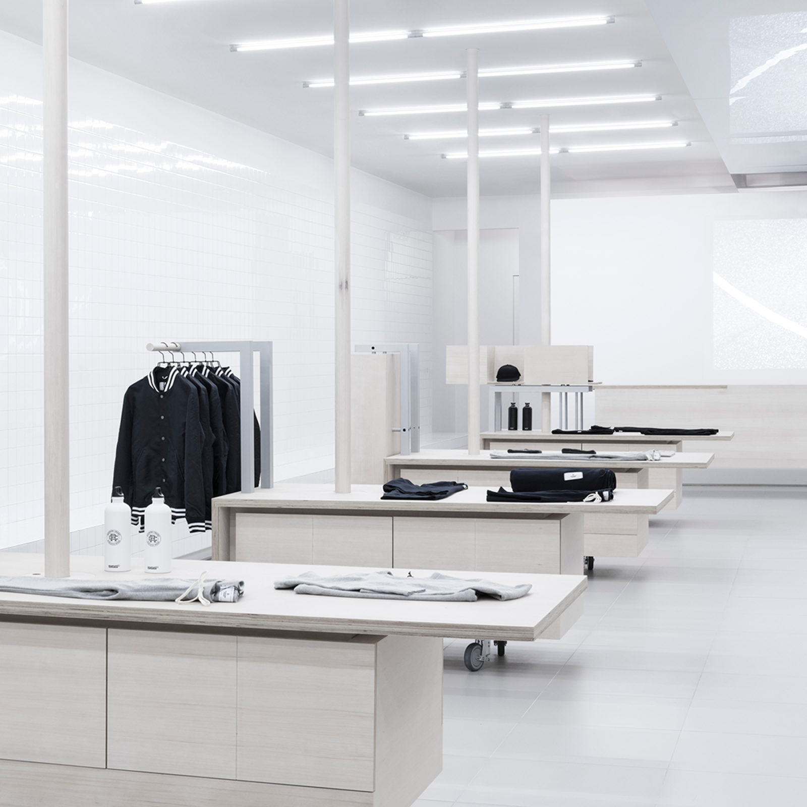 Reigning Champ Robson Street Flagship Store