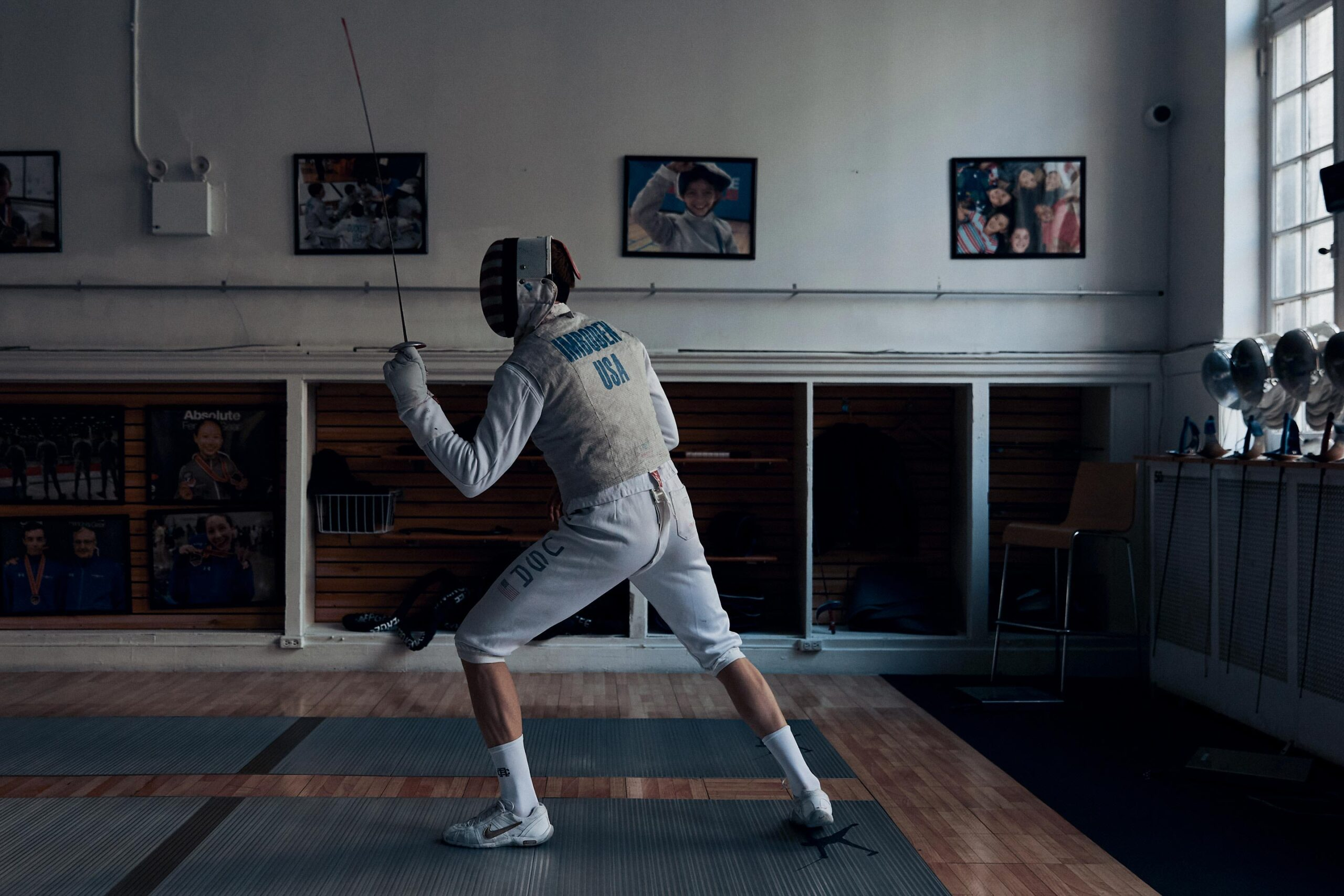Reigning Champ Performance Race Imboden USA Olympic Fencing