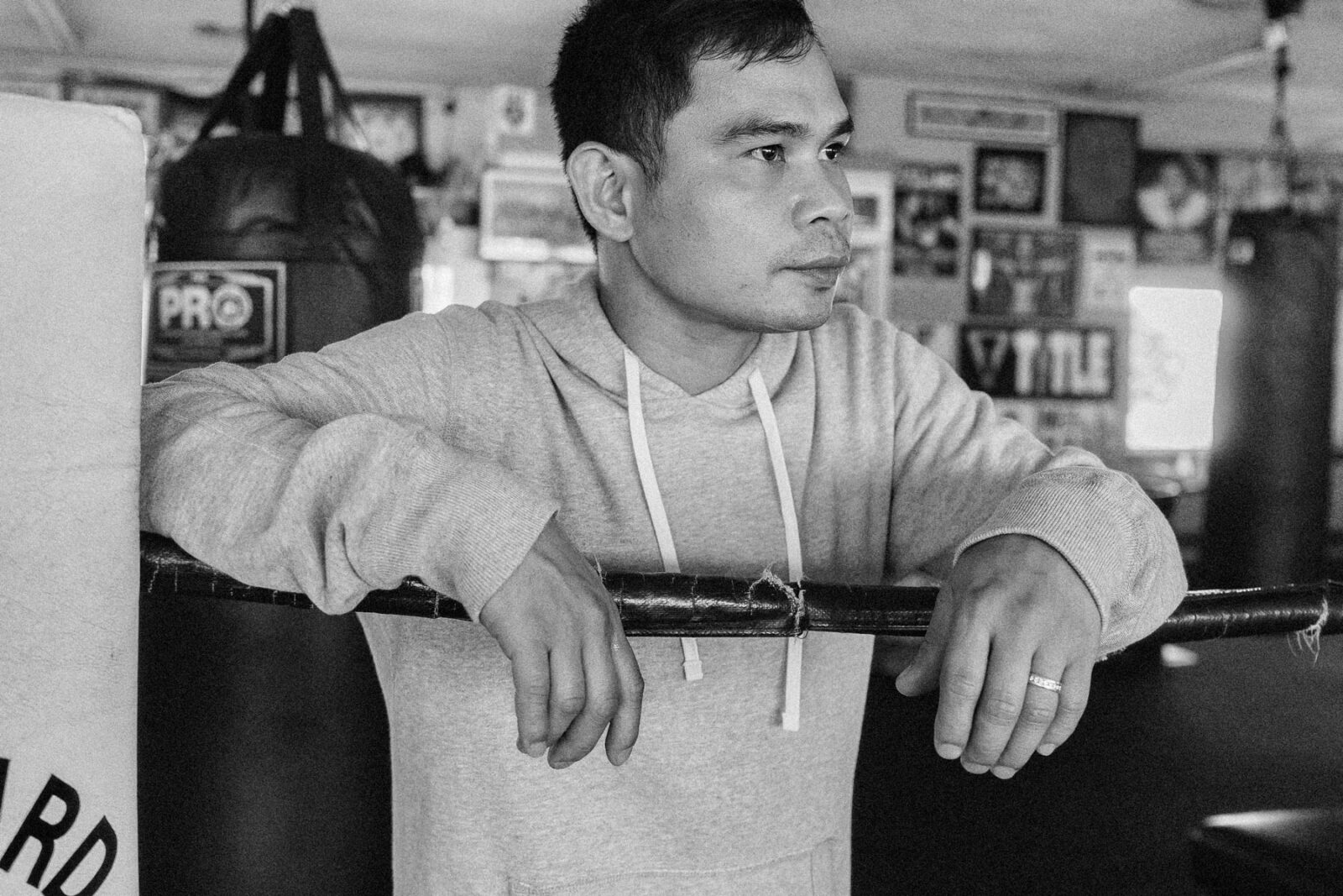 Marvin Somodio Rituals of Sport for Reigning Champ