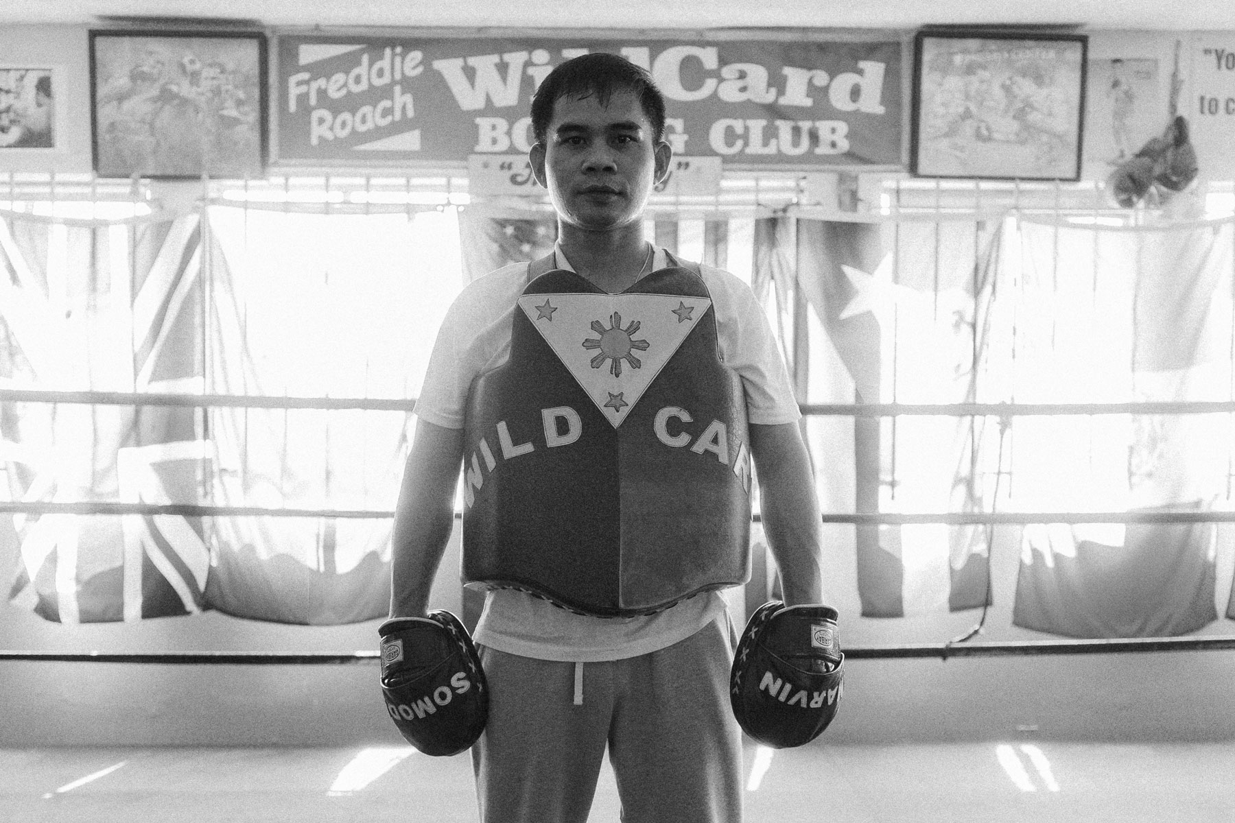 Marvin Somodio Rituals of Sport Reigning Champ Wild Card Boxing